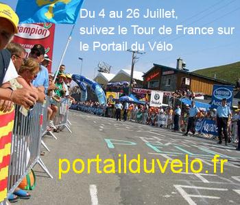 Suivez le Tour de France sur le portail du vélo